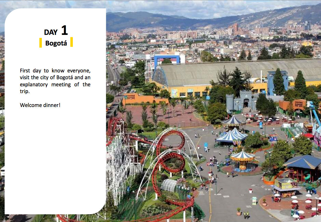 voyage van Bogota