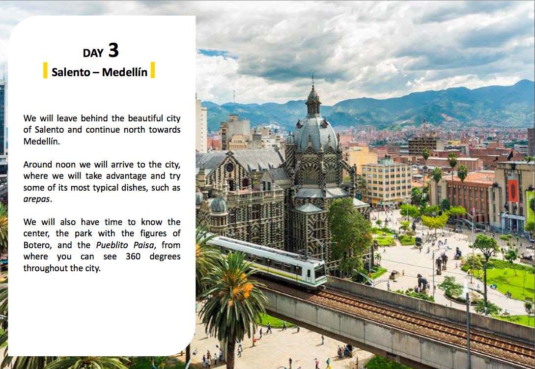 voyage van Medellin