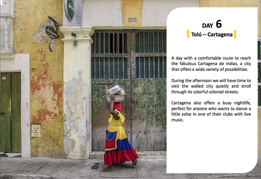 voyage van Cartagena