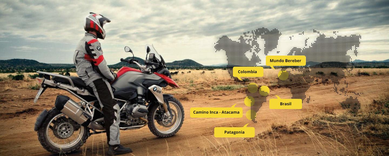 Viajes de aventura en moto