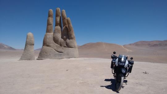 mano del desierto chile