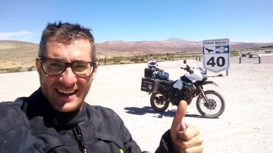 ruta 40 en moto