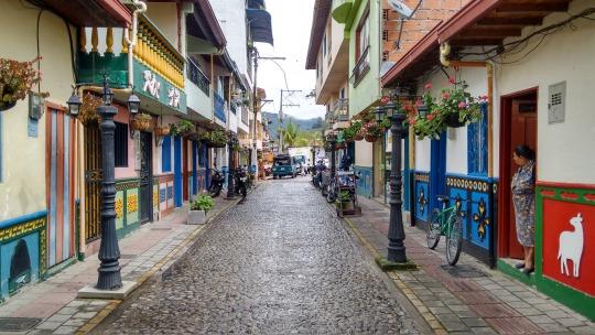 colombia en moto