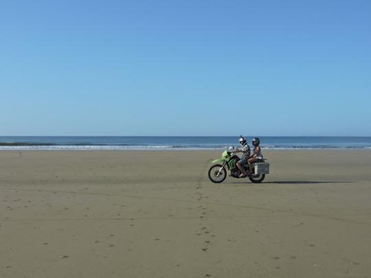 historia viaje en moto