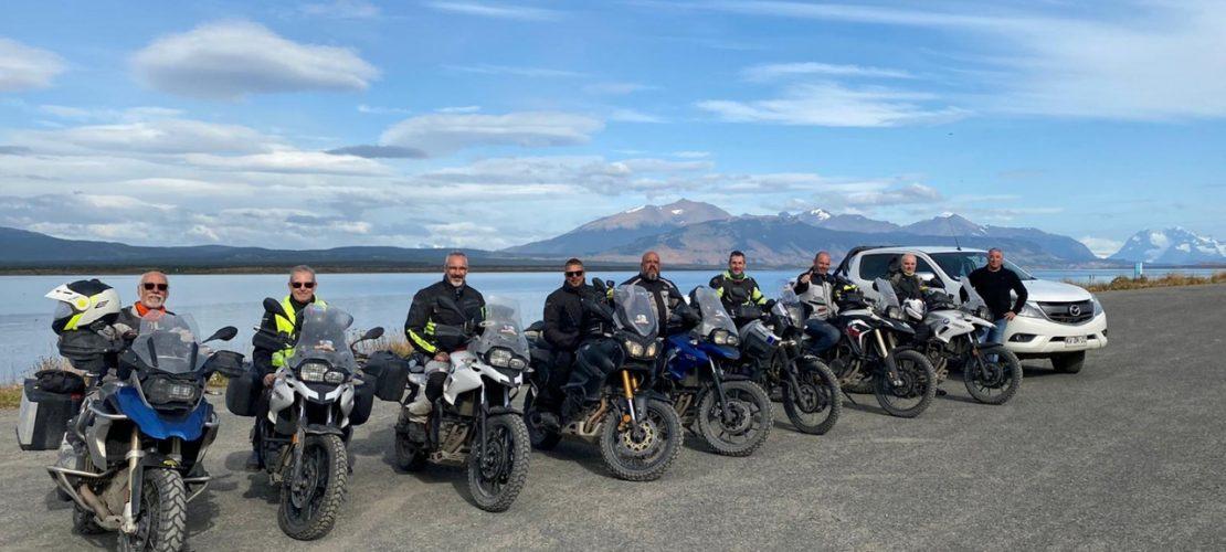 Puerto Natales en moto