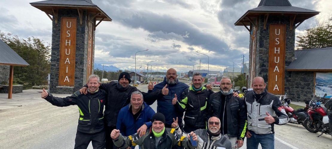 Ushuaia en moto