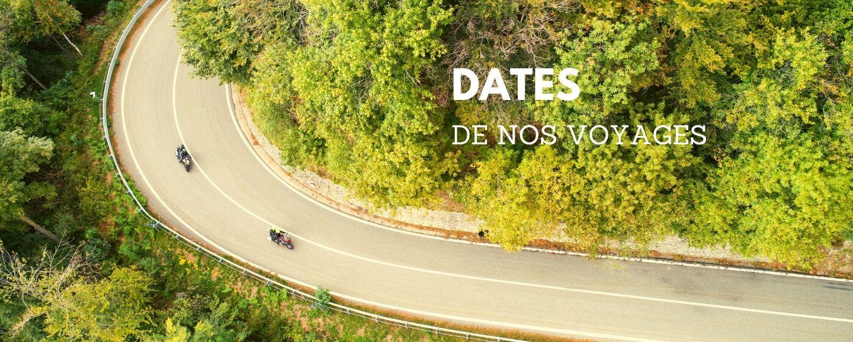 calendrier voyage moto