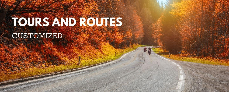 customized moto tours